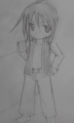 自重して、小さく描いてみた。